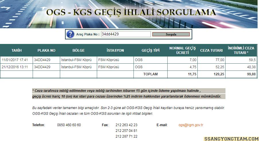 untitled 598d65c5225e7 - HGS-OGS-KGS Geçiş İhlali Sorgulama