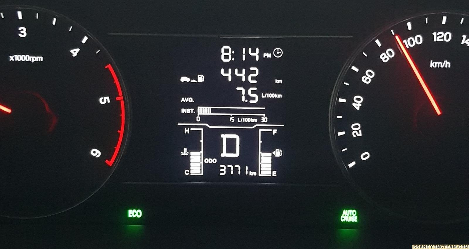Musso Grand Yakıt Tüketimi